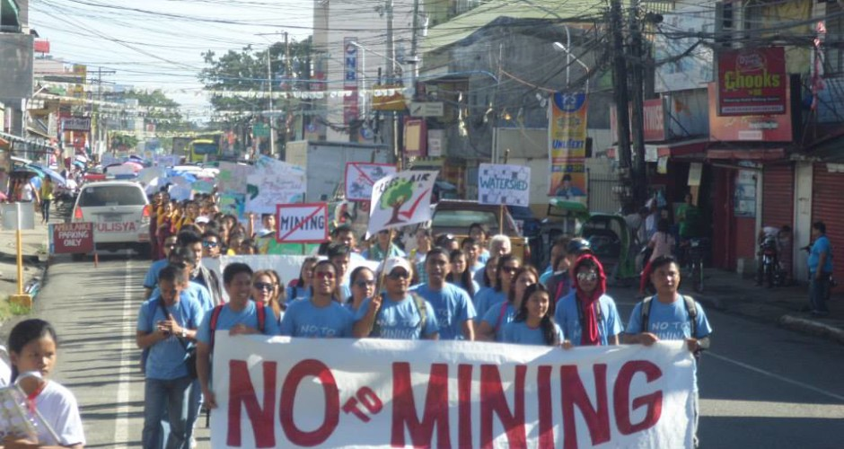 no to mining